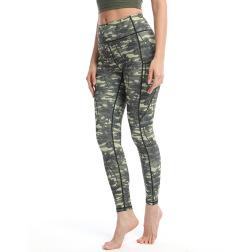 Women's Printed Cropped Pants Nihaostyles Clothing Wholesale NSXPF70759