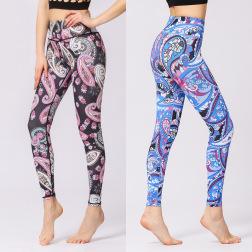 Printed Yoga Pants Nihaostyles Clothing Wholesale NSXPF70689