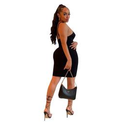fashion sexy suspender skirt nihaostyles clothing wholesale NSJCF71086