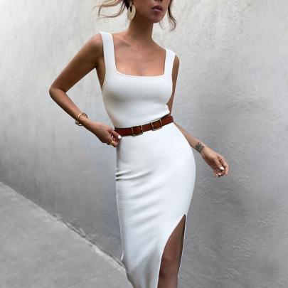 Nihaostyle Clothing Wholesale Sexy Slim Slit Skirt NSYLF66007