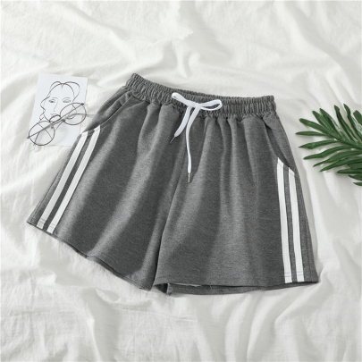 Wholesale Women's Clothing Nihaostyles Loose High Waist All-match A-line Wide-leg Shorts NSYID66217
