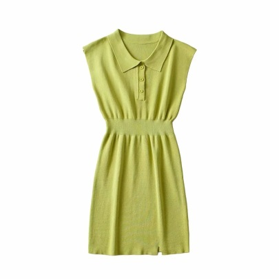 Wholesale Clothing Vendors Nihaostyles Sleeveless Knitted Bag Hip Dress NSHS66347