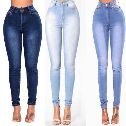 Nihaostyle Clothing Wholesale High-waist Stretch Slim Pants NSOUY66500