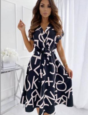Nihaostyle Clothing Wholesale Fashion Letter Print Big Dress NSOUY66550