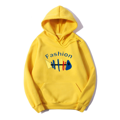 Wholesale Clothing Vendors Nihaostyles Cartoon Anime Fashion Print Hooded Long-sleeved Fleece Sweater NSYAY67088