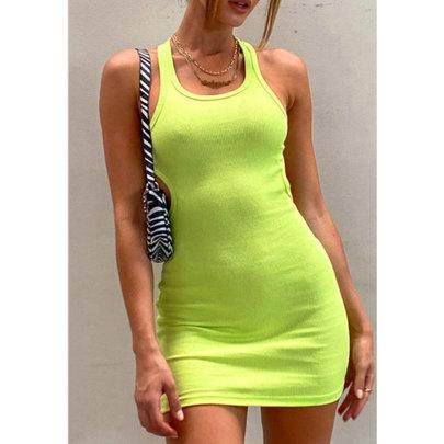 Wholesale Clothing Vendors Nihaostyles Leak-back Slim-fit Hip Dress NSJIM66794