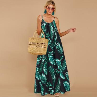 Nihaostyle Clothing Wholesale New Style Sleeveless Loose Skirt NSHYG66691