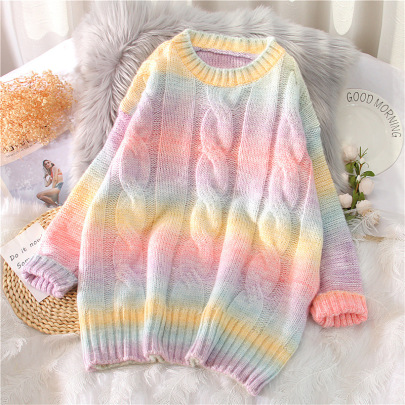 Wholesale Clothing Vendors Nihaostyles Loose Outer Wear All-match Long-sleeved Knitted Jacket NSBY66760