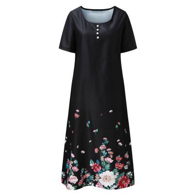 Nihaostyle Clothing Wholesale Retro Print Dress NSYIC66815