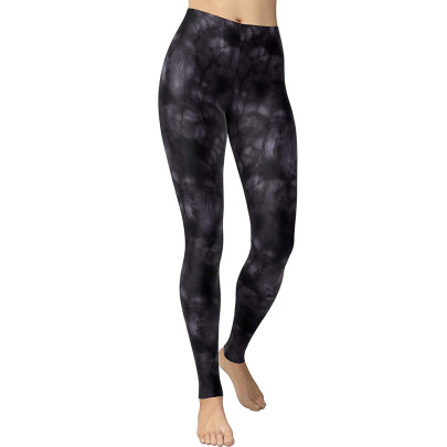 Nihaostyle Clothing Wholesale Leopard Print Tight Stretch Sports Yoga Casual Pants NSYIC66816