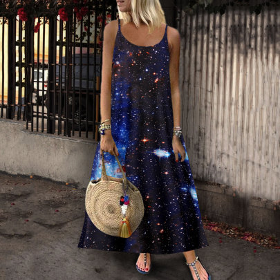 Nihaostyle Clothing Wholesale Printed Dress NSYIC66817
