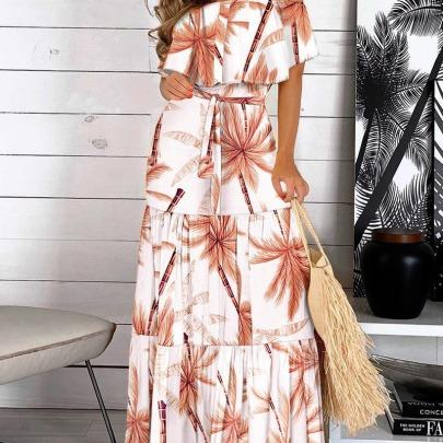 Nihaostyle Clothing Wholesale Summer New Fashion Waist Dress NSYF66874