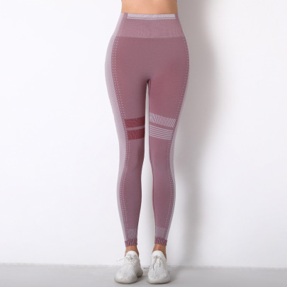 Nihaostyle Clothing Wholesale Seamless Knitted Hip Women's Leggings NSNS66944