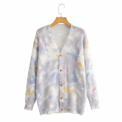Nihaostyle Clothing Wholesale Casual Tie-dye Cardigan NSSX66958