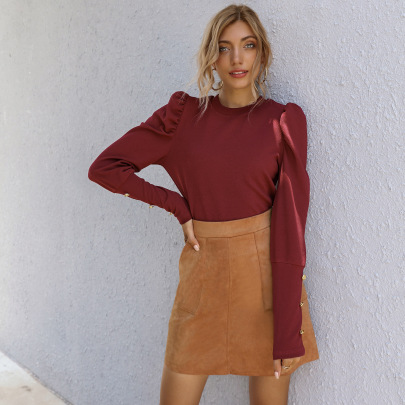 Women's Pure Color Slim Skirt Nihaostyles Clothing Wholesale NSAL72722