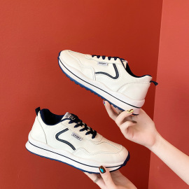Fashion Lace-up Flat Sneakers Nihaostyles Wholesale Clothing Vendor NSCF73013