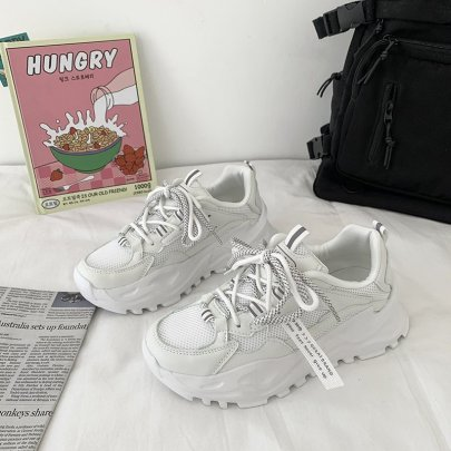 New Mesh Breathable Casual Sports Shoes Nihaostyles Wholesale Clothing Vendor NSCF73032