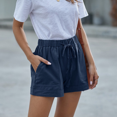 Casual Wide-leg Loose Shorts Nihaostyles Wholesale Clothing Vendor NSXPF73051