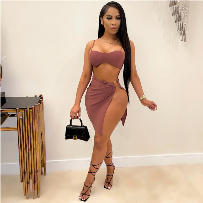 Women's Strapless Dress Nihaostyles Clothing Wholesale NSCYF73147