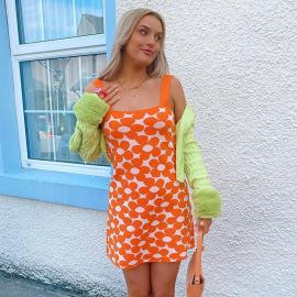 Women's Flower Sling Dress Nihaostyles Clothing Wholesale NSSX73245