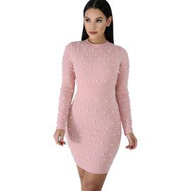 Bubble Bead Beaded Dress Nihaostyles Wholesale Clothing Vendor NSCYF73286