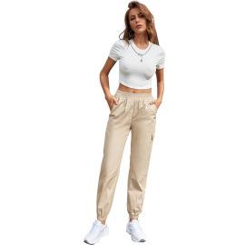 Women's High-waist Loose Straight-leg Trousers Nihaostyles Clothing Wholesale NSJM73546