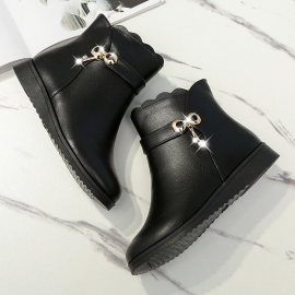 Flat Simple Short Boots Nihaostyles Clothing Wholesale NSYUS74954