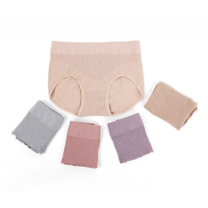 Women's Mid-waist Pure Cotton Underpants Nihaostyles Clothing Wholesale NSLSD73646