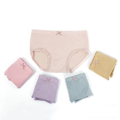 Women's Mid-waist Modal Cotton Panties Nihaostyles Clothing Wholesale NSLSD73647