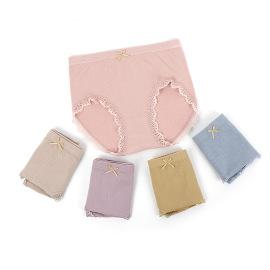 Women's Mid-waist Pure Cotton Briefs Nihaostyles Clothing Wholesale NSLSD73650