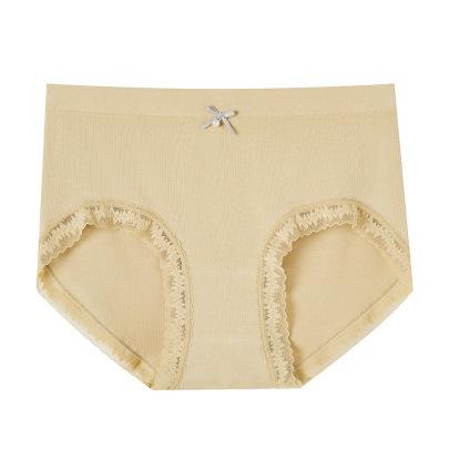 Solid Color Bowknot Modal Cotton Women's Underwear Nihaostyles Clothing Wholesale NSLSD73656