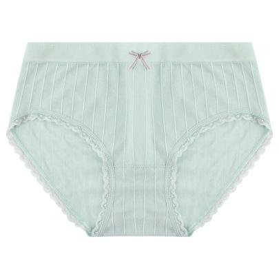 Four-pack Women's Cotton Mid-waist Bowknot Panties Nihaostyles Clothing Wholesale NSLSD73663