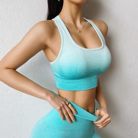 Women's Gradient Color Sports Underwear Nihaostyles Clothing Wholesale NSXER73669