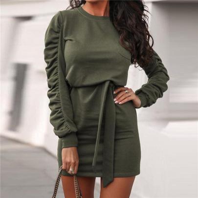 Women's Long-sleeved Dress Nihaostyles Clothing Wholesale NSXPF73747