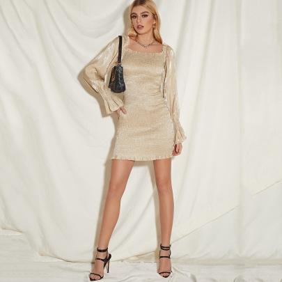 Women's Slim Long-sleeved Dress Nihaostyles Clothing Wholesale NSLIH73864