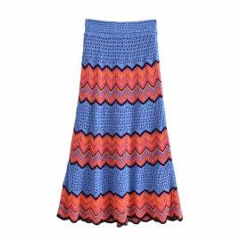 Crochet Skirt Bag Hip Skirt Nihaostyles Wholesale Clothing Vendor NSAM74093