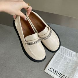 Soft Leather Flat Loafers Nihaostyles Wholesale Clothing Vendor NSCA74615