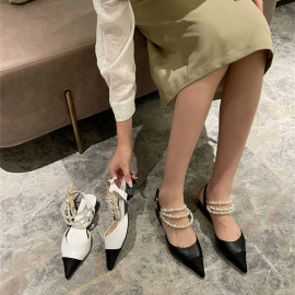 Pearl Pointed Sandals Nihaostyles Wholesale Clothing Vendor NSCA74619