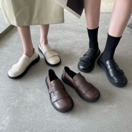 Round Toe Comfortable Flat Shoes Nihaostyles Wholesale Clothing Vendor NSCA74662