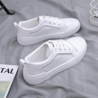 Flat Casual White Shoes Nihaostyles Clothing Wholesale NSYUS74920
