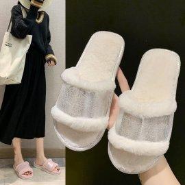 Plush Indoor Slippers Nihaostyles Wholesale Clothing Vendor NSKJX74769