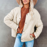 Fashion Solid Color Botton Cotton Jacket Nihaostyles Wholesale Clothing Vendor NSSI74823