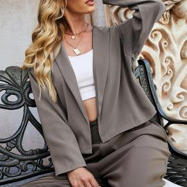 Women's Long-sleeved Suit Jacket Nihaostyles Clothing Wholesale NSLM74904