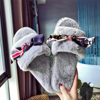 Ladies Plush Slippers Nihaostyles Clothing Wholesale NSKJX71208