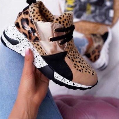 Leopard Print Sneakers Nihaostyles Wholesale Clothing Vendor NSYBJ71220