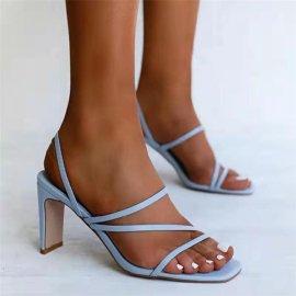 Fashion High-heeled Buckle Sandals Nihaostyles Wholesale Clothing Vendor NSYBJ71287