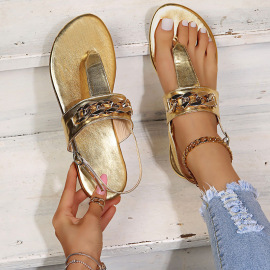 Fashion Solid Color Thong Sandals Nihaostyles Wholesale Clothing Vendor NSYBJ71293