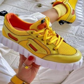 Sports Lace-up Canvas Shoes Nihaostyles Wholesale Clothing Vendor NSCRX71320