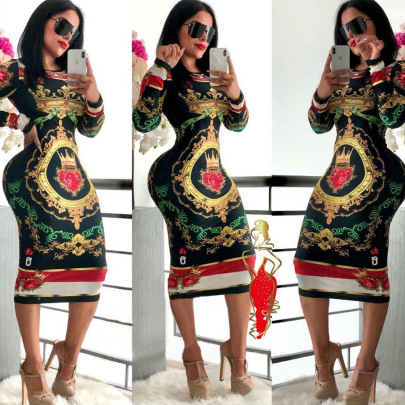 Poker Face Dress Nihaostyles Wholesale Clothing Vendor NSMDJ75055