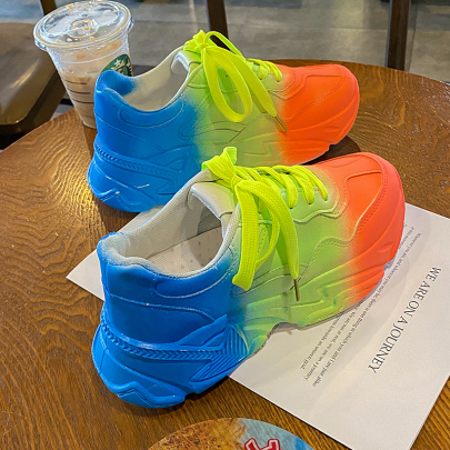 Thick-soled Colorful Casual Shoes Nihaostyles Clothing Wholesale NSYUS75321